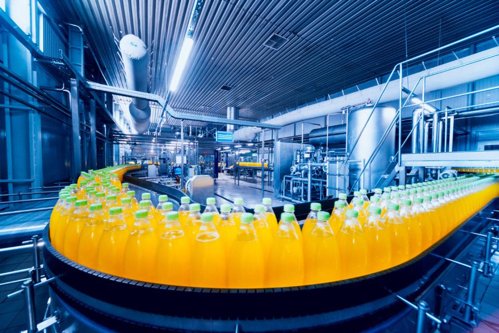 bottles factory