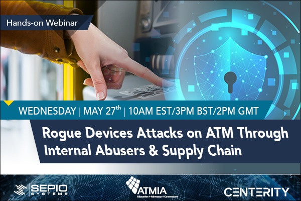 rougue devices attacks on ATM
