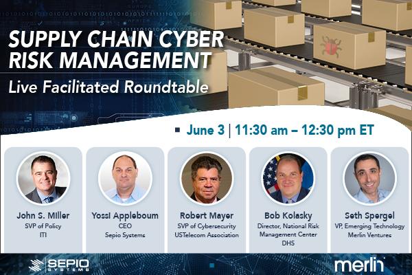 Supply chain cyber risk management webinar