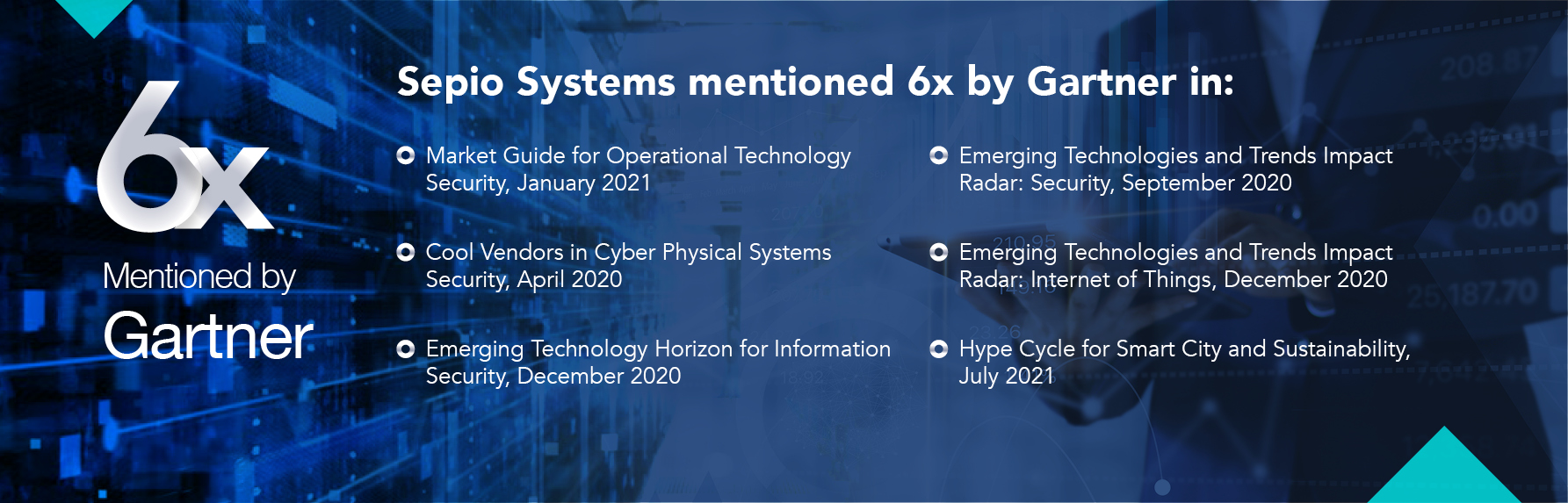 Sepio Systems mentioned by Gartner