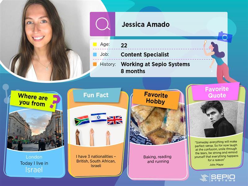 Employee Card Jessica Amado