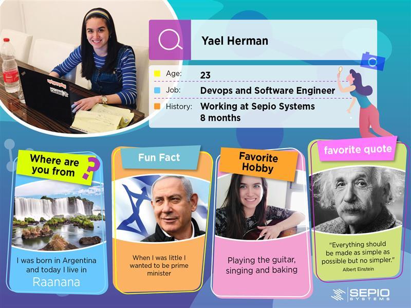 Employee Card Yael Herman